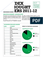 Index of Thought Leaders 2012