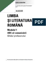 Secundar Romana I Cadru Didactic