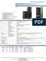 E400 UPS Datasheet