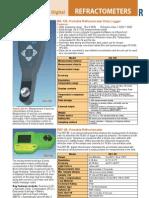 Refractometers - Catalog