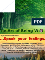 The Art of Being Well.pps