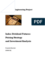 Index Dividend Futures: