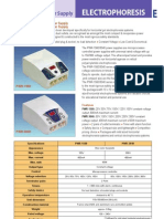 ElectroPhoresis Catalog