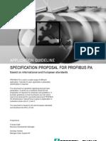 Profibus specification