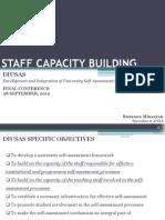 3 DIUS, Staff Capacity Building-1