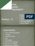 Borrowings Against Property