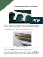 Modélisme ferroviaire à l'échelle HO. Des arcades de soutènement en papiers arches pour le modélisme ferroviaire à l'échelle HO. Par Philippe Vépierre