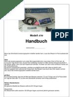 Handbuch A750