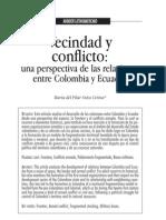 Relaciones Entre Colombia y Ecuador