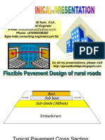 Design of Flexible Pavements for Low Volume Rural Roads