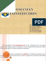 Romanian Constitution