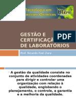 Gestão e Certificação