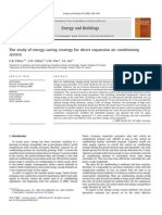 The Study of Energy Saving Strategy by Direct Expansion Air Conditioning System