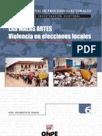 Las Malas Artes Violencia en Elecciones Locales