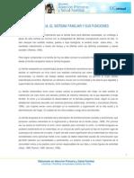 Sistema Familiar y Sus Funciones