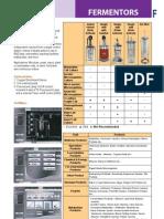 Fermentors - Catalog