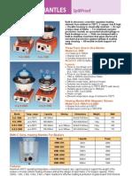 Heating Mantles - Catalog