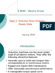 Induction Motor Modeling _steady State