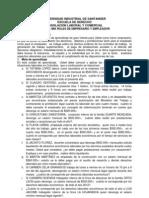 Legislacion Laboral y Comercial Taller Laboral