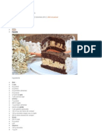 Tort Caramel Cu Visine Si Ciocolata