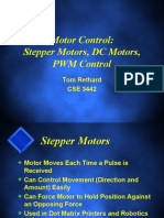 Stepper and DC Motors Control