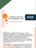 SERVIÇO SOCIAL E SOCIEDADE CIVIL