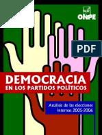 Democracia en Los Partidos Politicos