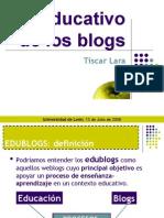 Uso Del Blog en Educacion
