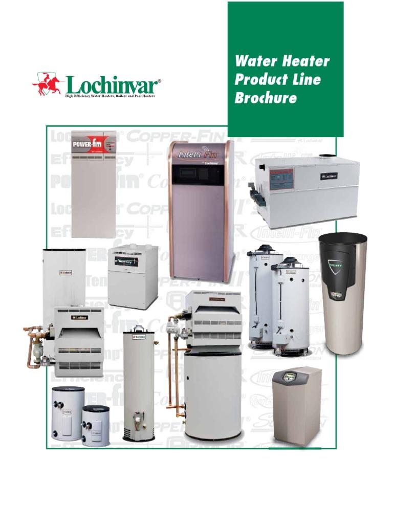 Lochinvar Water Heaters | Water Heating | Hvac