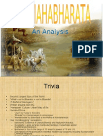 Analysis Mahabharata Revised