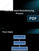 116364638 Iron and Steel Manufacturing Process Ppt