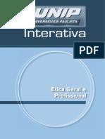 Ética Geral e profissional -  Livro Texto - Unidade I