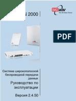 RADWIN 2000 User Manual Russian