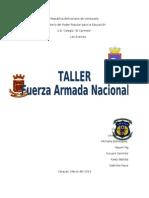 Taller de La Fuerza Armada