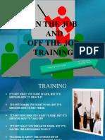 Job Training Method