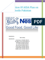 AIDA Plan and Nestle Pakistan