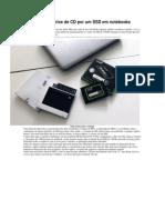 Como Trocar o Drive de CD Por Um SSD Em Notebooks
