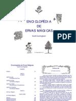 enciclopédia de ervas mágicas - scott cunningham