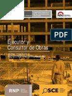 Ejecutor y Consultor de Obras - Inscripción