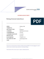 Pathology Quality Manual