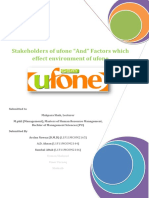 Ufone Stakeholders