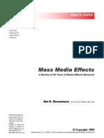 Mass Media Effects - Jim Macnamara[1]