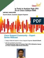 CSC Webcast High CPU 6500