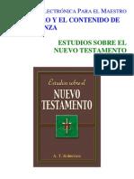 Estudios Sobre El NT
