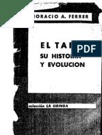 El Tango Origen y Desarrollo Ferrer
