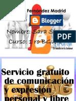 Blogger Sara Singo 1E