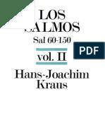 H. J. Kraus-Los Salmos (60-150)