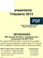 Planeamiento Tributario 2013 - Miguel Arancibia Cueva