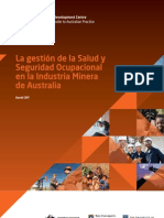 UWA 1833 Paper 3 Spanish Version the Management of Occupational Health Safety in the Aust Mining Industry
