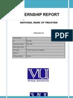 Internship Report of NBP